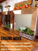 木工雑貨GROUNDWORK