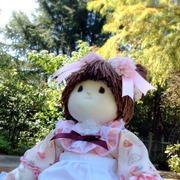 世界に一つだけの手作り人形 chiku*2-mama