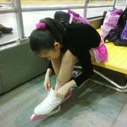 親子でフィギュアスケート