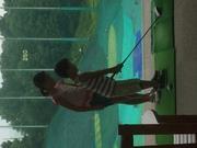 姉弟のゴルフ