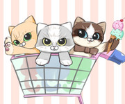 :。✿*゚'羊毛フェルト 猫 「メリーモロー」:。✿*゚'