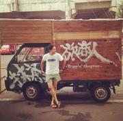 旅商人亮章 -木造軽トラで住んで稼いで日本一周-