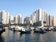 Ap Lei Chau Daysー香港の漁村の小売店