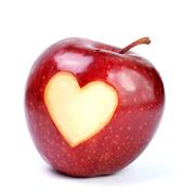 りんごのぽっちゃりコーデ