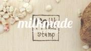 milkmade -eraser stamp-