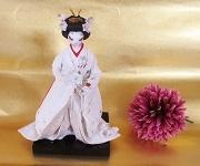 和紙花嫁人形💕素敵なポーチ💕ハンドメイド