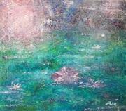 伊達市COCORO絵画教室 絵の具の匂い