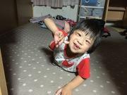 笑顔いっぱいダウン症の次男ミィ☆彡