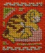 気ままなCross-Stitchの中庭