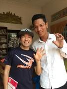 カンボジア車チャーターアート