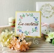 デコパージュ教室La cachette