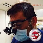はい、福石歯科医院です。 院長は私ですが。。。
