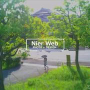 トイカメラ+Webデザインのニーア・ウェブ