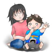 だらだら育児中(育児漫画)