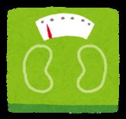 体重と食べた物を記録するよっ