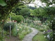 里山のバラとハーブの庭