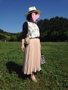 144cm超小柄なアラフォー大人可愛いファッション♡