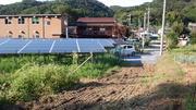 南側に大きな樹木がある低圧50kw太陽光発電の実際