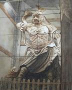 奈良の水彩画