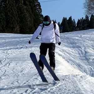 スキーの俺