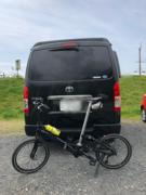 旅の途中でサイクリング