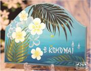 ハワイアントールペイント、アトリエ Moani Ke 'Ala