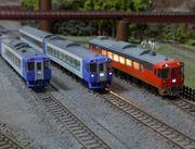 全線完乗記録と北海道鉄道模型