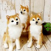 新潟市 羊毛フェルト講習会|猫・柴犬・野生動物