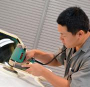 コーティング施工車の洗車専門店