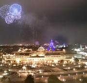 花火とホテル