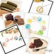 米粉の焼き菓子とレジン小物のハンドメイド