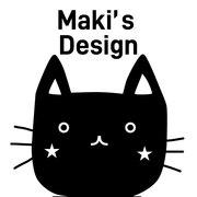 『おしゃれ収納ラベル』Maki's design