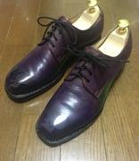 自分で革靴作ってみた(素人の靴作り)