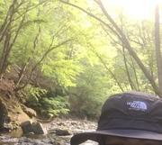川で釣り、始めました
