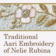Traditional Aari Embroidery of Nelie Rubina