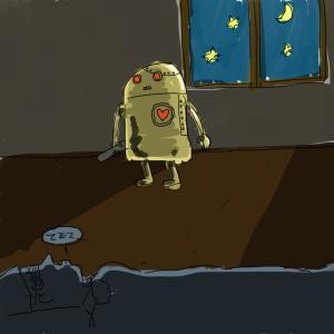 サラリーマンSE的健康生活(ロボット)