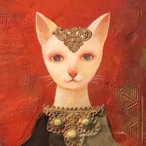 猫とトートタロットとLa Vie En Rose