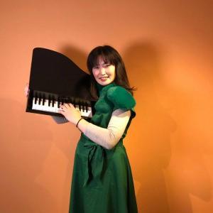 トイピアノ2台弾き の 林田真理子 です♡