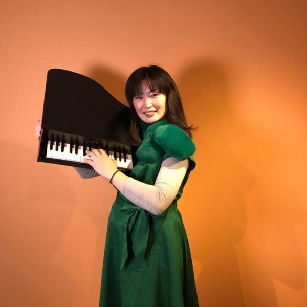 トイピアノ林田真理子さんのプロフィール