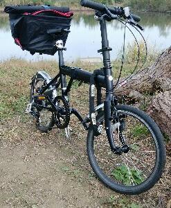 折りたたみ自転車で片道15キロの自転車通勤