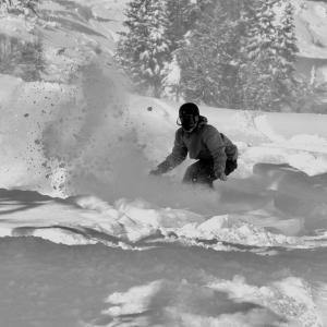 スノーボードと旅をする