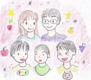 5人家族のドタバタ日記