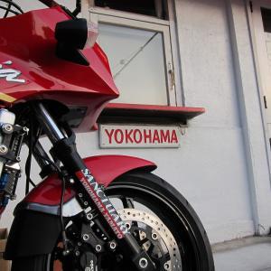 バイク乗ってるよ、俺のとうちゃん。