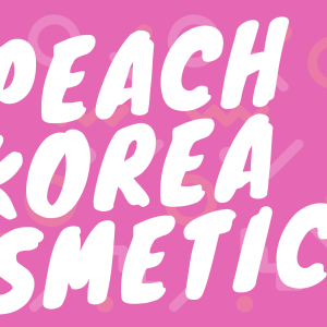PEACH KOREA COSMETICS