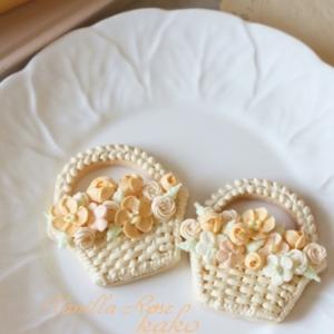大阪 Vanilla Rose アイシングクッキー