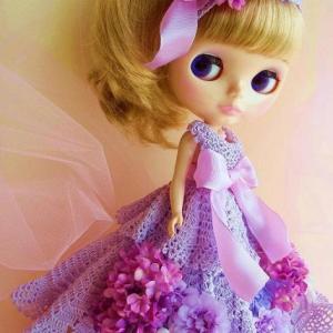 手編みドレスのべっぴんさん