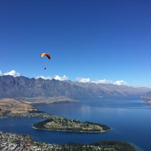 ニュージーランドクィーンズタウンでAirbnb