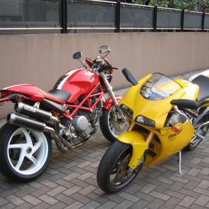 バイクと自転車とオッサンと…
