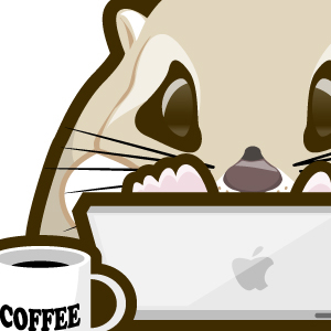 いつもの席でコーヒーを