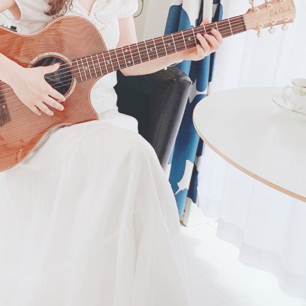 歌・GarageBandとギター♪私の頭の中の音楽